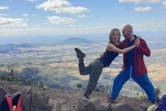 At Mt Cordeaux, QLD (August 2020)