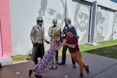 Bee Gees Way, Redcliffe. Queensland (15th August, 2021)