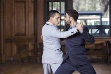 The Traditional Way Men Learned to Dance Tango